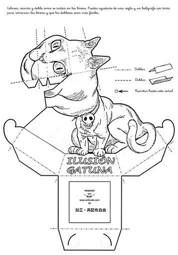 Ilusiones opticas perros y gatos de gardner magic - Ilusiones opticas para imprimir ...